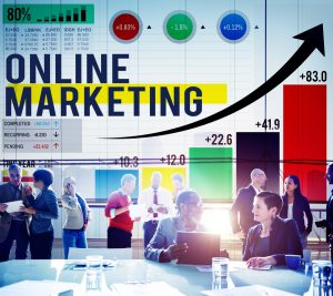 Successful Online Marketing Campaign Team Analysis Meeting