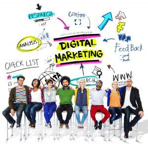 Team Meeting About Digital Marketing